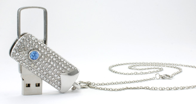 Diamond Custom Shaped Flash Drives